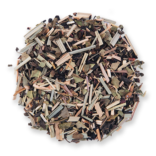 Lemon Hibiscus loose leaf herbal tea blend from The Jasmine Pearl Tea Co.