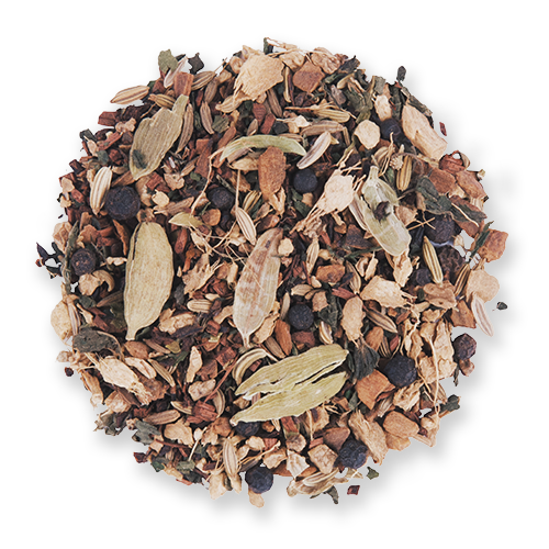 Yoga Blend loose leaf herbal tea blend from The Jasmine Pearl Tea Co.
