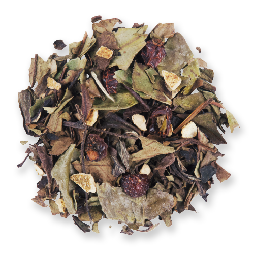 Haiku Peach loose leaf white tea blend from The Jasmine Pearl Tea Co.