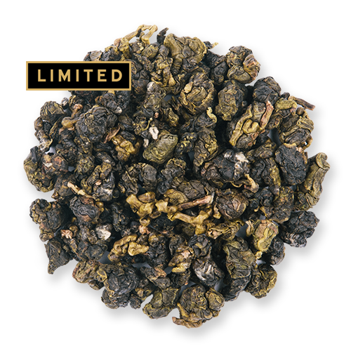 Alishan Oolong loose leaf oolong tea from The Jasmine Pearl Tea Co.
