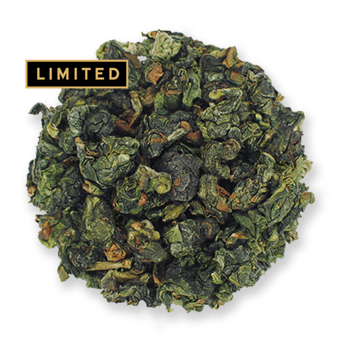 Emerald Oolong loose leaf tea from The Jasmine Pearl Tea Co.