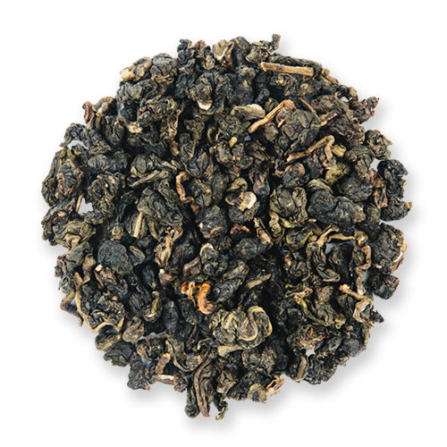 Green Jade loose leaf oolong tea from The Jasmine Pearl Tea Co.