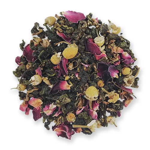 Bird Song Oolong loose leaf tea from The Jasmine Pearl Tea Co.