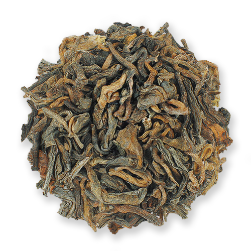 Puerh Queen aged loose leaf puerh tea from The Jasmine Pearl Tea Co.