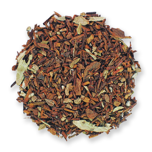 Red Chai loose leaf herbal tea blend from The Jasmine Pearl Tea Co.