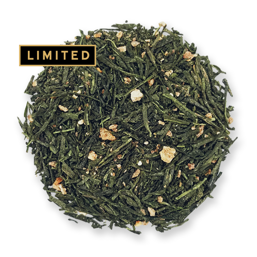 Yuzu Green loose leaf green tea from the Jasmine Pearl Tea Co.