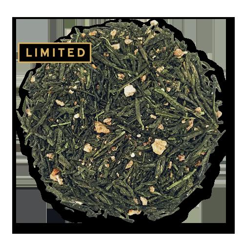 Yuzu Sencha loose leaf green tea from the Jasmine Pearl Tea Co.