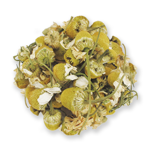 Chamomile flowers from The Jasmine Pearl Tea Co.