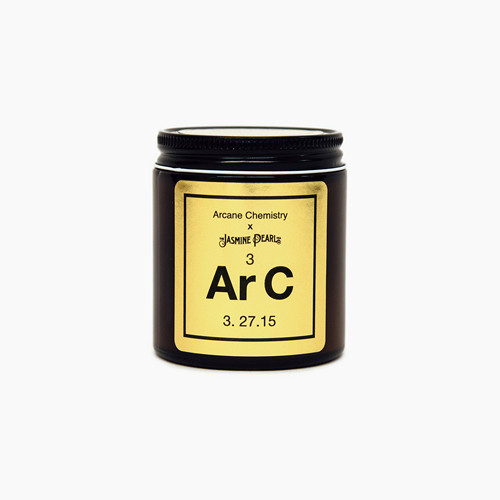Arcane Chemistry & The Jasmine Pearl - Kashmiri Chai candle.
