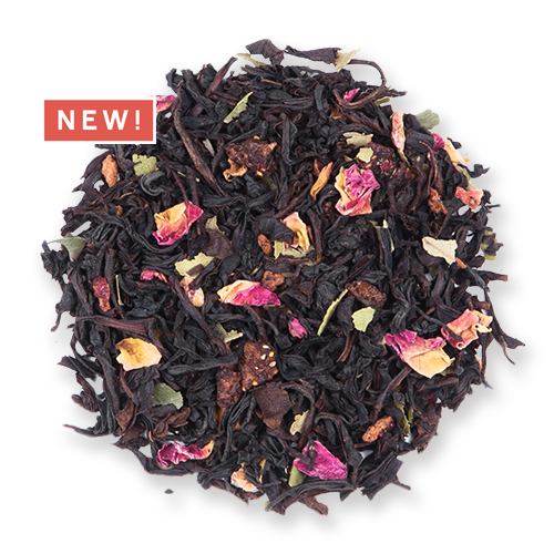 Lemonberry Black loose leaf black tea from the Jasmine Pearl Tea Co.