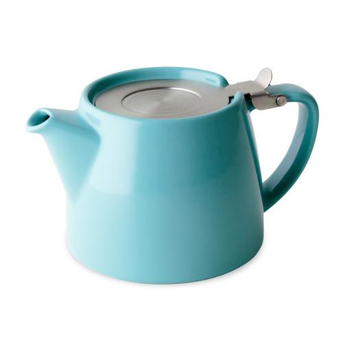 Stump Teapot - TURQUOISE