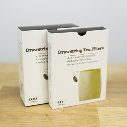 Drawstring Paper Tea Infusers (100 count)