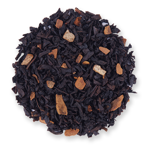 Amaretto Spice loose leaf black tea from The Jasmine Pearl Tea Co.