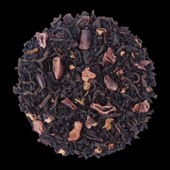 Cocoa Deluxe loose leaf black tea from The Jasmine Pearl Tea Co.
