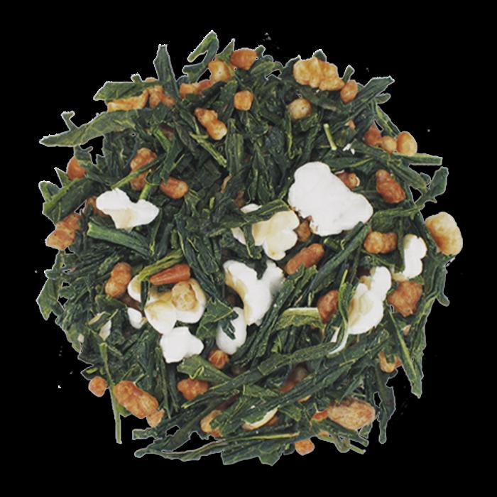 Genmaicha loose leaf green tea from The Jasmine Pearl Tea Co.