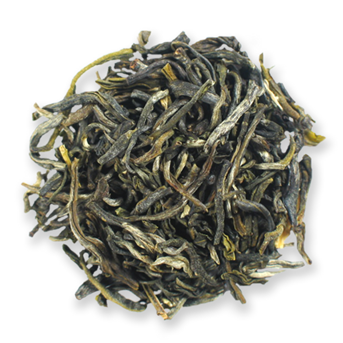 Jasmine Peony loose leaf green tea from The Jasmine Pearl Tea Co.