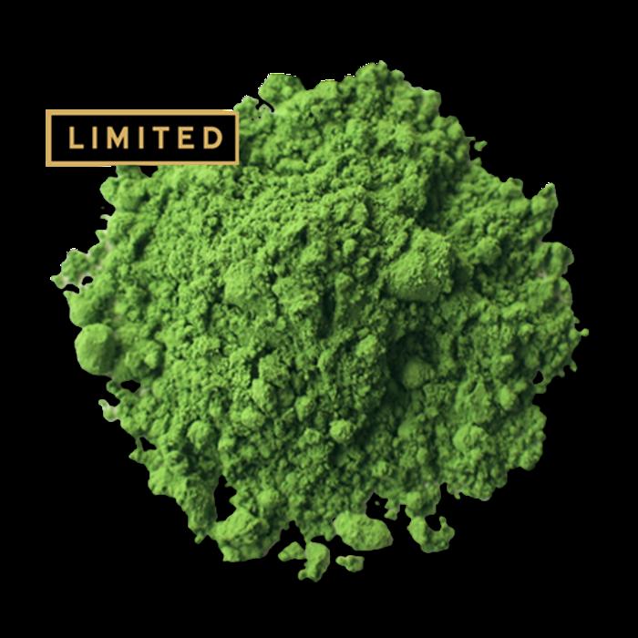 First Flush Matcha green tea powder from The Jasmine Pearl Tea Co.