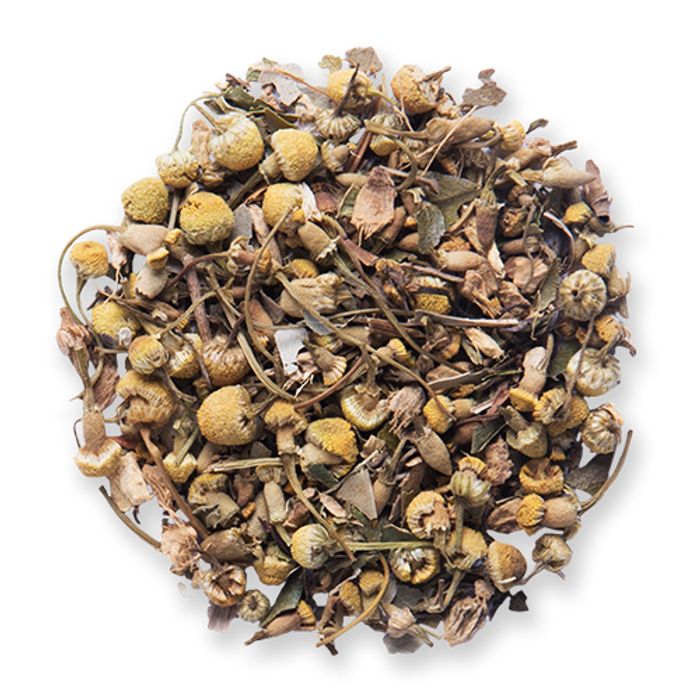 Feel Better loose leaf herbal tea from The Jasmine Pearl Tea Co.