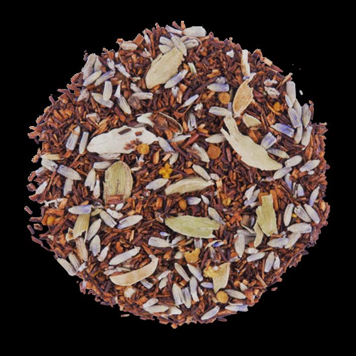 Lavender Honey Spice loose leaf herbal tea from The Jasmine Pearl Tea Co.