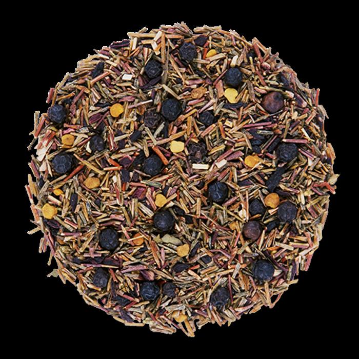 Ruby Nectar loose leaf herbal tea from The Jasmine Pearl Tea Co.