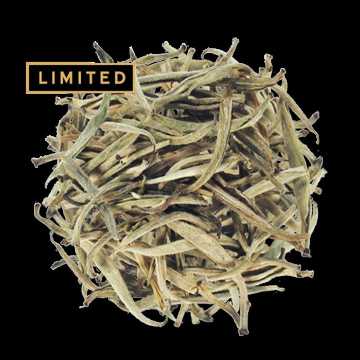 Silver Needles loose leaf white tea from The Jasmine Pearl Tea Co.