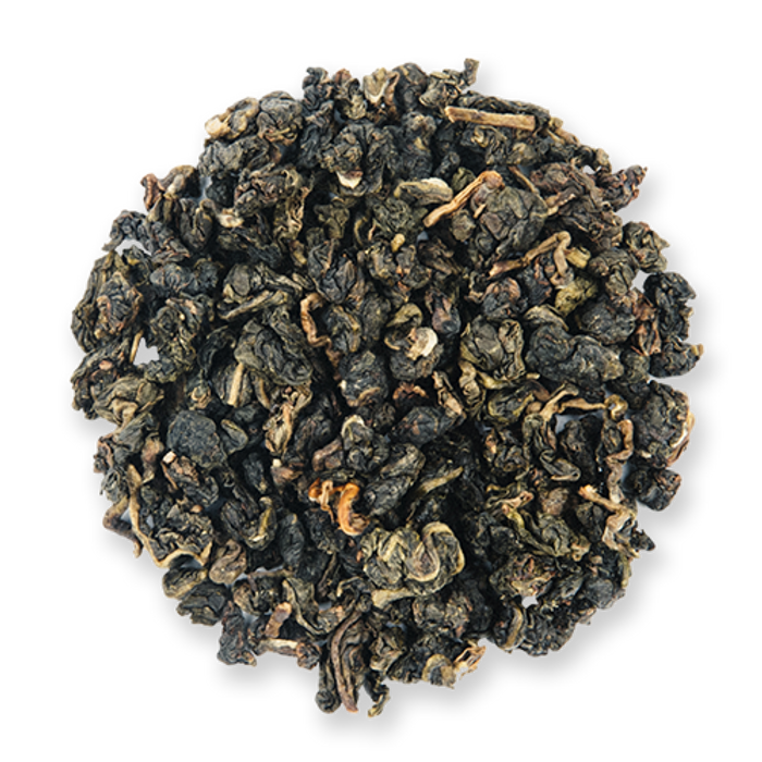 Green Jade loose leaf oolong tea from The Jasmine Pearl Tea Co.