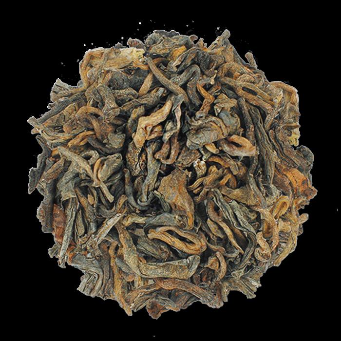 Puerh Queen aged loose leaf puerh tea from The Jasmine Pearl Tea Co.