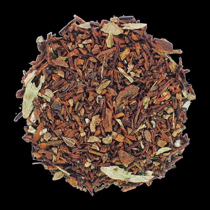 Red Chai loose leaf herbal tea from The Jasmine Pearl Tea Co.