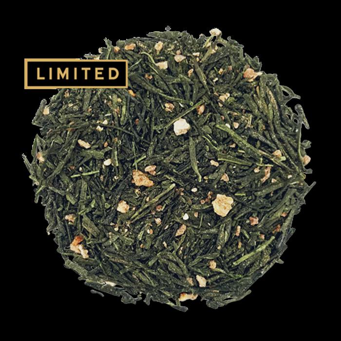 Yuzu Green loose leaf green tea from the Jasmine Pearl Tea Co.