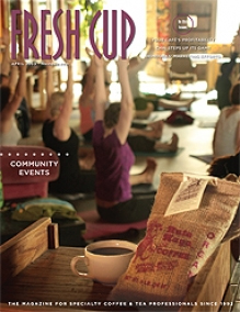 Fresh Cup Magazine Cover May 2009