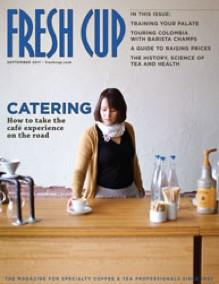 Fresh Cup Magazine Cover Sept 2011
