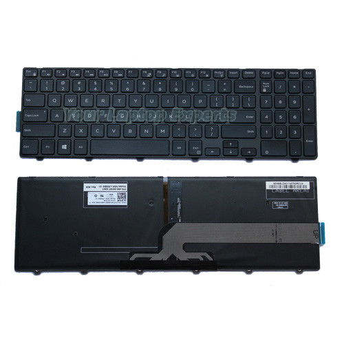 New Dell 490.00H07.0A1D NSK-LR0BW 1D 051CHY US Keyboard Backlit