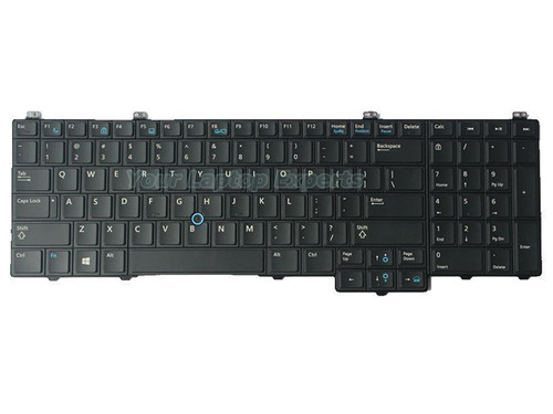 Genuine New Dell Latitude E5540 US Backlit Keyboard 076X2J