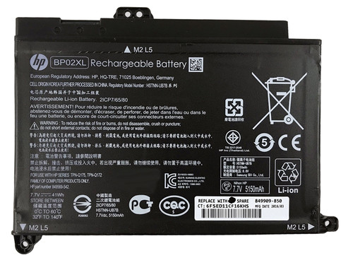 New Orig HP Pavilion 15-AU063CL X7Q97UA X7Q97UAR Notebook Battery