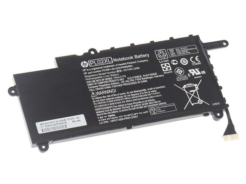 New Original Genuine HP PL02XL 751681-421 751875-001 Notebook Battery