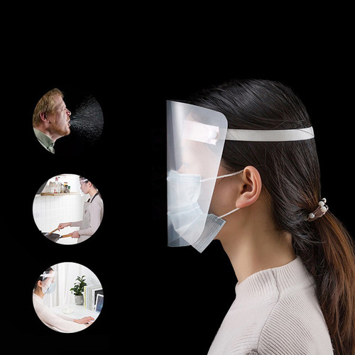Full Face Shield Mask Clear Anti-Fog Flip Up Work Safety Protection US