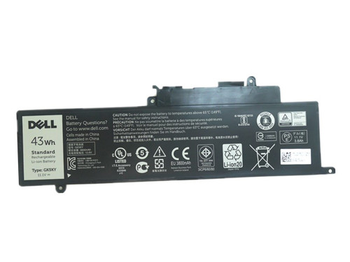 New 43Wh Original Genuine Dell GK5KY 92NCT 4K8YH 0WF28 Battery
