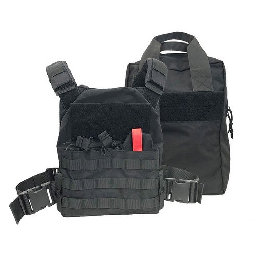 SHELLBACK TACTICAL ACTIVE SHOOTER KIT W/CARRY BAG