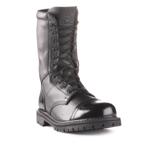 "ROCKY 10"" SIDE ZIPPER JUMP BOOT"