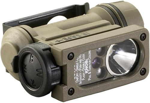STREAMLIGHT SIDEWINDER COMPACT HELMET/MOLLE MOUNT LED LIGHT
