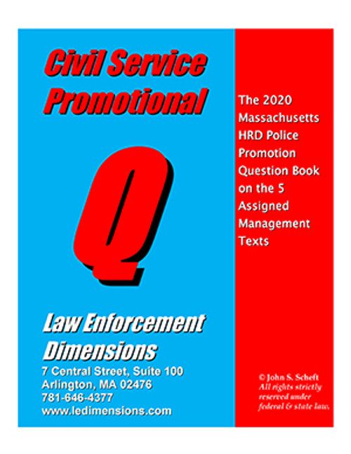 2020 CIVIL SERVICE PROMOTIONAL Q BOOK