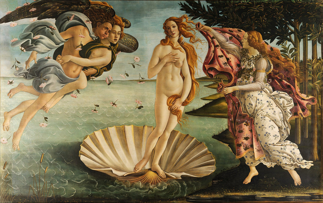 The Birth of Venus and The Pearl