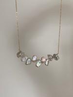 Scarlett Keshi Pearl Chain Necklace