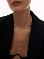 The Glittery Chain Necklace