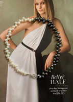 The Fifty Fifty Pearl Choker Necklace