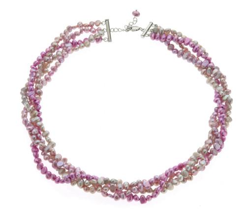 A Quartet Of Baroque Pearls Necklace