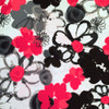 Bouquet of Pink and Black Flower Microwave Corn Bag Heating Pad