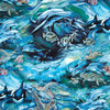 Amazing Ocean pattern with Whales, Dolphins, Turtles and Fish for your Microwave Corn Bag Heating Pad