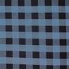 Light Blue & Black Plaid
