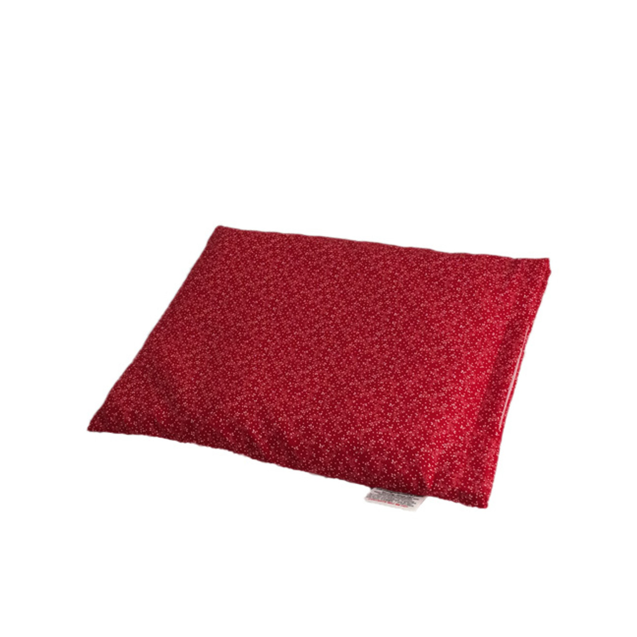Red With White Flowers Pillow Warmer Microwave Heating Pad